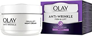 Olay Anti-Wrinkle Firm and Lift Night Cream for 40plus , 1. 7 Ounce