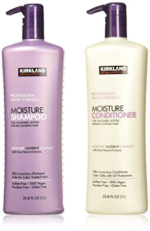 Salon Formula Moisture Shampoo 33.8 Oz & Conditioner 33.8 Oz