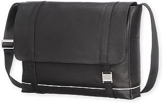 Moleskine 数码设备黑色皮革邮差包 尺寸可达 15英寸