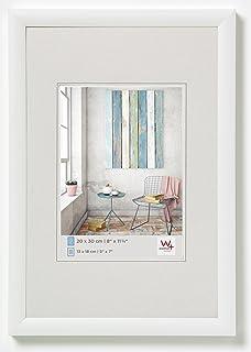 Walther Design KP070W Trendstyle - Marco de plástico, Blanco, 50 x 70 cm