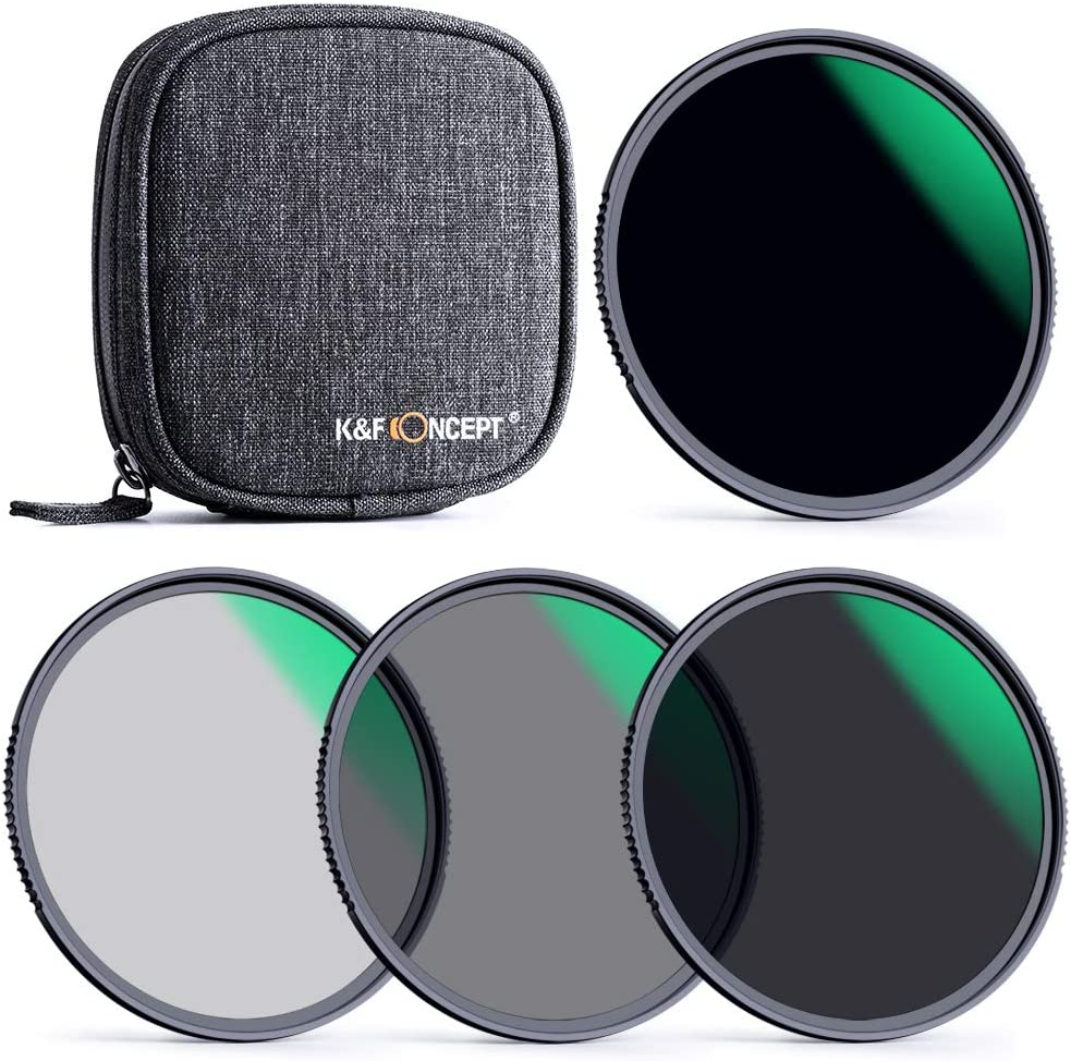 Popular brand KF Concept 72mm Max 62% OFF Fixed ND Lens Neutral N Filter Density Kit ND4