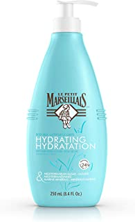 Le Petit Marseillais Mediterranean Algae & Marine Minerals Hydrating Body Milk Lotion, Non-Greasy French Skin Care for Dry Skin Relief & pH Neutral for Skin, 8.4 fl. oz