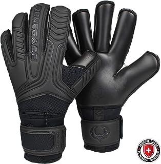 Renegade GK Vulcan Guantes De Porteros con Microbe-Guard (Talla 6-11, 4 Estilos) |Pro Protección De Dedos | 3.5+3mm Hyper Grip | Guante De Alto Nivel | Agarre Y Protección | Adulto, Muchacho
