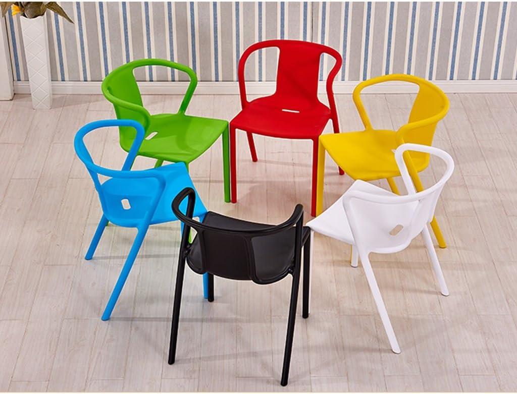 Président WGZ- Chaise de Salle à Manger Loisirs Creuse créative Minimaliste Moderne Simple (Color : A) D