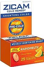 Zicam Cold Remedy Citrus RapidMelts Quick Dissolve Tablets, 25 Count