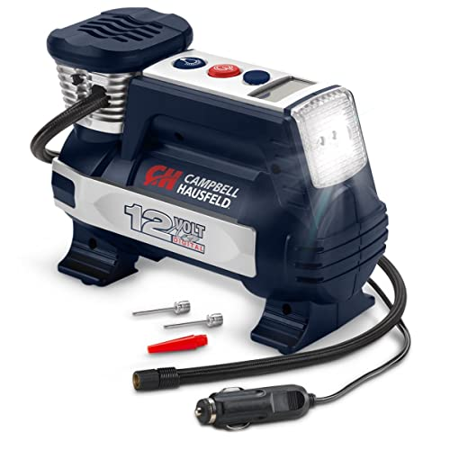 Powerhouse Digital Inflator, Portable Compressor, Auto Shut-Off, 12V 100 PSI &