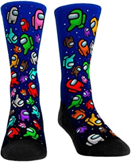 Suppemie, Suppemie Calcetines de Dibujos Animados para Mujeres/Hombres Calcetines Altos de Juego Caliente Calcetines Largos para niños Calcetines Divertidos para Equipo Regalo Divertido