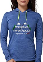 CafePress - Welcome to Twin Peaks Population Long Sleeve T-Shi - Womens Hooded Shirt