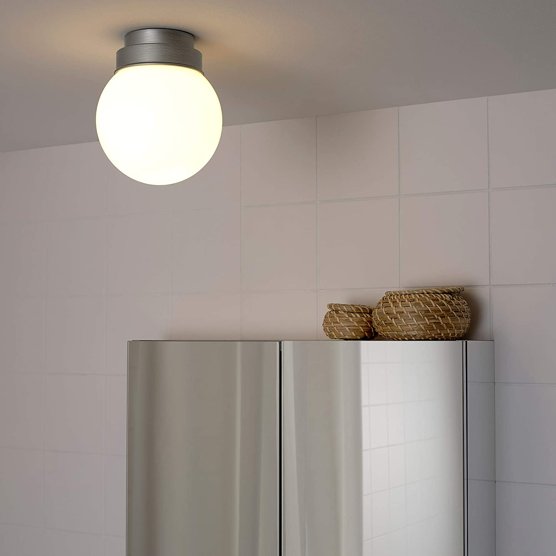 IKEA FRIHULT Decken  / Wandlampe 20cm edelstahlfarben  Amazon.de ...