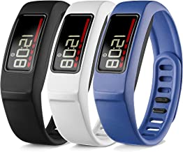 iBREK Compatible with Garmin Vivofit 2 Replacement Bands with Metal Clasp for Women Men Small Large(No Tracker)