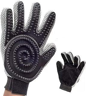Zirbel Fellpflege Handschuh 2 in 1 – Massage und Enthaarung – für Hund und Katze