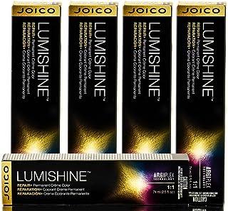 Joico Lumishine永久クリーム色6CC / 6.44、 2.5オンス