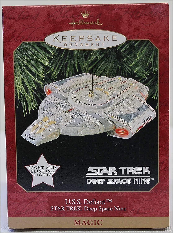 Hallmark Keepsake Ornament Star Trek Nine Deep Regular discount U.S.S. Space depot Defi