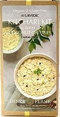 Organic Kitchari Kit with Coconut Chutney - North and South Indian Style Kitchari Seasoning