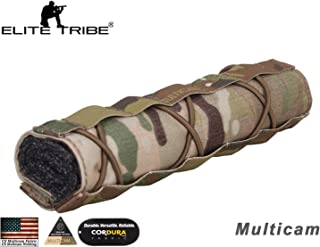Paintball Equipment Tactical Emerson Airsoft 22cm Suppressor Cover Multicam