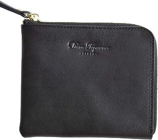 [Dom Teporna Italy] L字ファスナー 薄型 小さい財布 本革 イタリアンレザー 財布 大容量 メンズ レディース 全6色