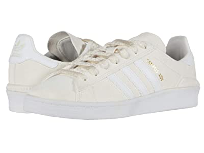 adidas Skateboarding Campus ADV (Supplier Colour/Footwear White/Gold Metallic) Skate Shoes