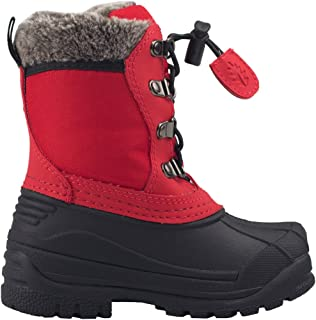 Kids Snow Boots for Girls and Boys - Youth & Toddler Boots Fur Lined, Waterproof, Insulated Cold Rating -30˚