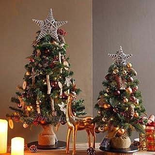 CherishX.com Christmas Tree Decorations at Home kit Includes: 2FT Christmas Pine Tree, Tree Ornaments Creates Perfect Chri...