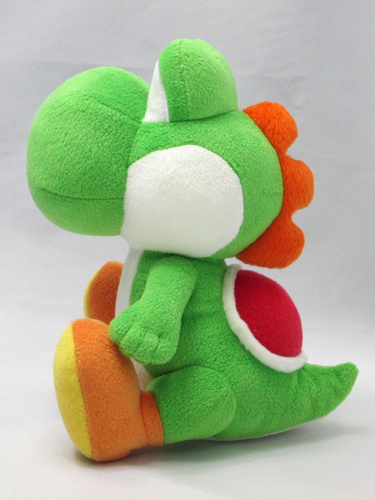 "Sanei Super Mario All Star Collection 8"" Yoshi Plush, Small , Green"
