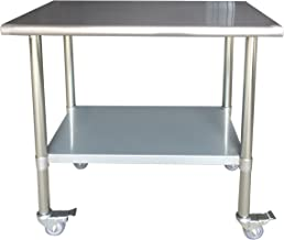 SSWTWC36 Stainless Steel Work Table
