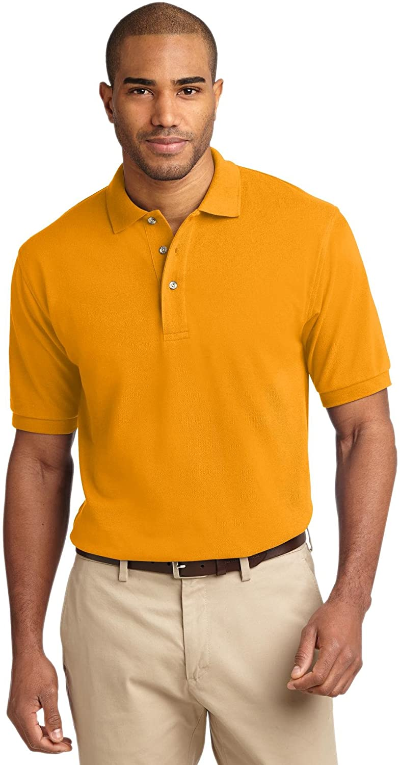 Port Authority Men's Tall Pique Knit Polo