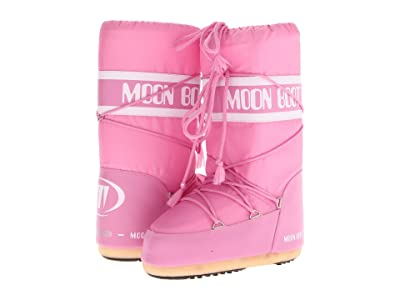 MOON BOOT Moon Boot(r) Nylon (Pink) Cold Weather Boots