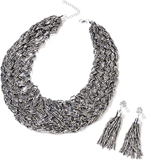 Best bold silver necklaces Reviews