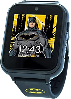 Touch-Screen Watch with Silicone Strap, Black, 19.3...