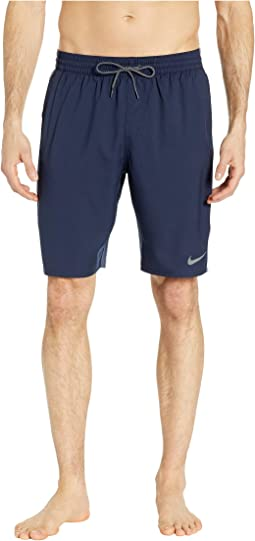 "9"" Logo Splice Racer Volley Shorts"