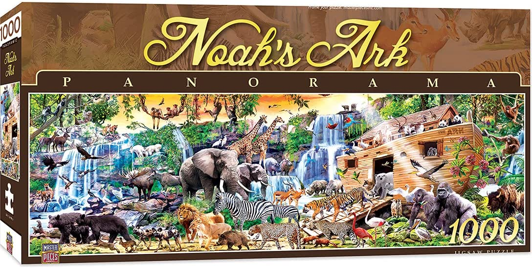 1000 Piece Popular shop is the lowest price challenge Jigsaw Puzzle Japan's largest assortment for Adult Or Ark Kids - Noah's Family