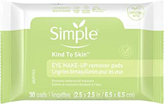 Simple Kind to Skin Eye Makeup Remover Pads 30 ct