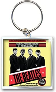 The Beatles Keyring Keychain 1962 Port Sunlight Official One Size