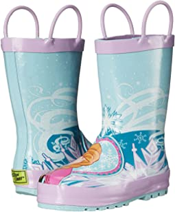 4272c1da06e85 Frozen Elsa   Anna Rain Boot (Toddler Little Kid Big ...