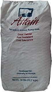 Attain Tetraploid Annual Pasture Ryegrass Seed - 50 Lbs.