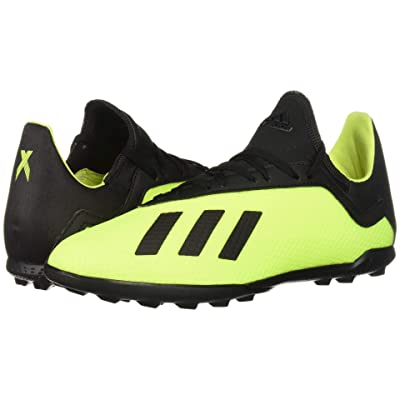 adidas Kids X Tango 18.3 TF Soccer (Little Kid/Big Kid) (Solar Yellow/Black/Solar Yellow) Kids Shoes