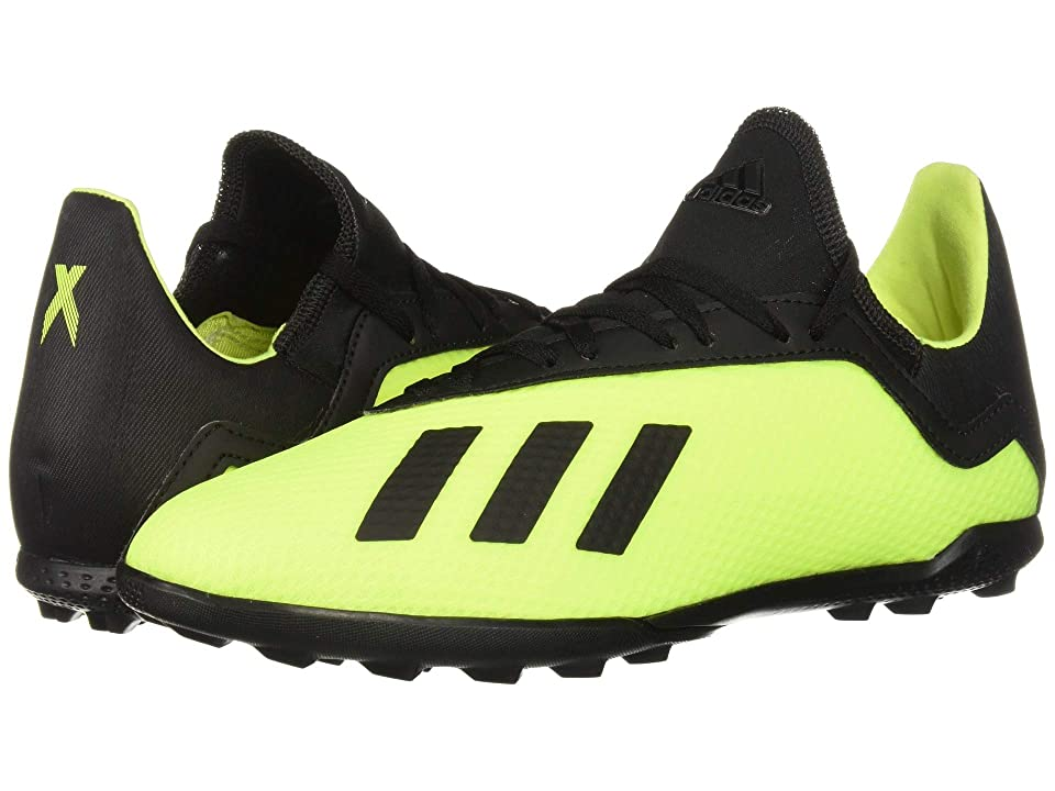 adidas Kids X Tango 18.3 TF Soccer (Little Kid/Big Kid) (Solar Yellow/Black/Solar Yellow) Kids Shoes