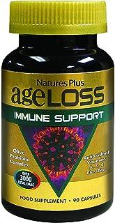 NaturesPlus AgeLoss Immune Support - 90 Vegetarian Capsules - Natural Immunity Support Supplement, Antioxidant, Anti-Infla...