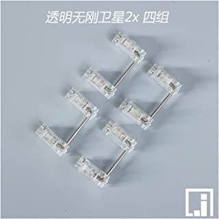 Mekanisk Tangentbord Mekanisk Key Stab Cherries M-X STAB P-C-B Installation Cherry Clear Stabilizer Transparent Box Key Mo...