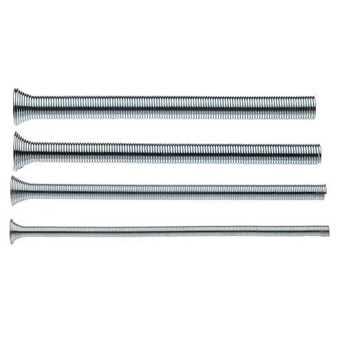 "Superior Tool 61600 Spring Tube Bender 4-pc. Set,-1/4"" 3/8"" 1/2"" and 5/8"" Tube Bender Set"
