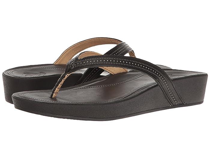 Ola  Shoes (Black/Black) Women's Sandals