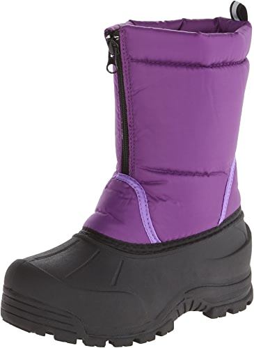 Northside Icicle Winter Unisex démarrage (Toddler Little Kid Big Kid),violet,1 M US Little Kid