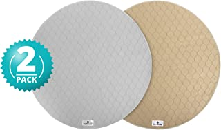 Pet Parents Washable Dog Pee Pads (2pack) of Premium Pee Pads for Dogs, Waterproof Whelping Pads, Reusable Dog Training Pads, Travel Pet Pee Pads! Modern Puppy Pads!