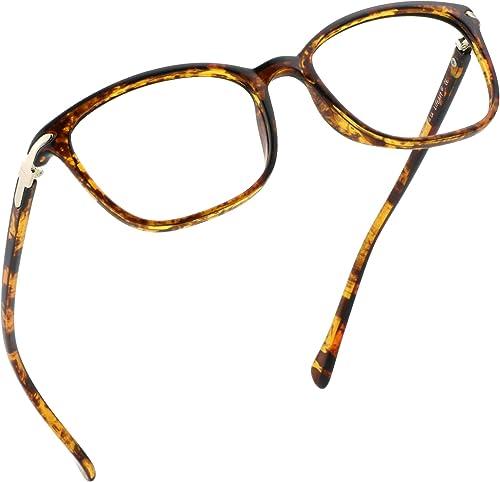 LifeArt Blue Light Blocking Glasses, Anti Eyestrain, Computer Reading Glasses, Gaming Glasses, TV Glasses for Women a...