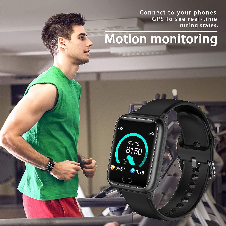 miniature 6 - Smart Watch Fitness Tracker BP fréquence cardiaque étape Calorie Sommeil Moniteur Étanche