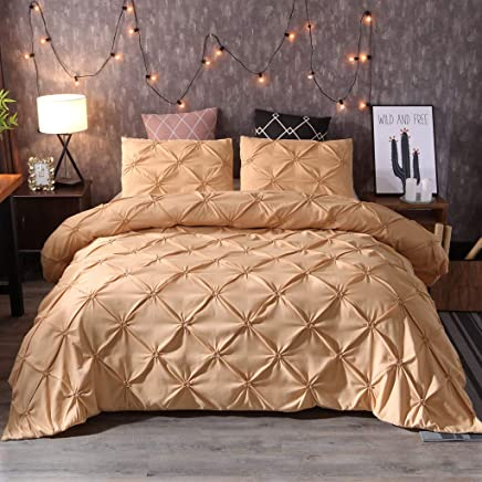 OPALLEY Style Doré Atmosphère Simple Solide Lit Résistant à La Couleur Lit  Trois Pièces Maison Moderne
