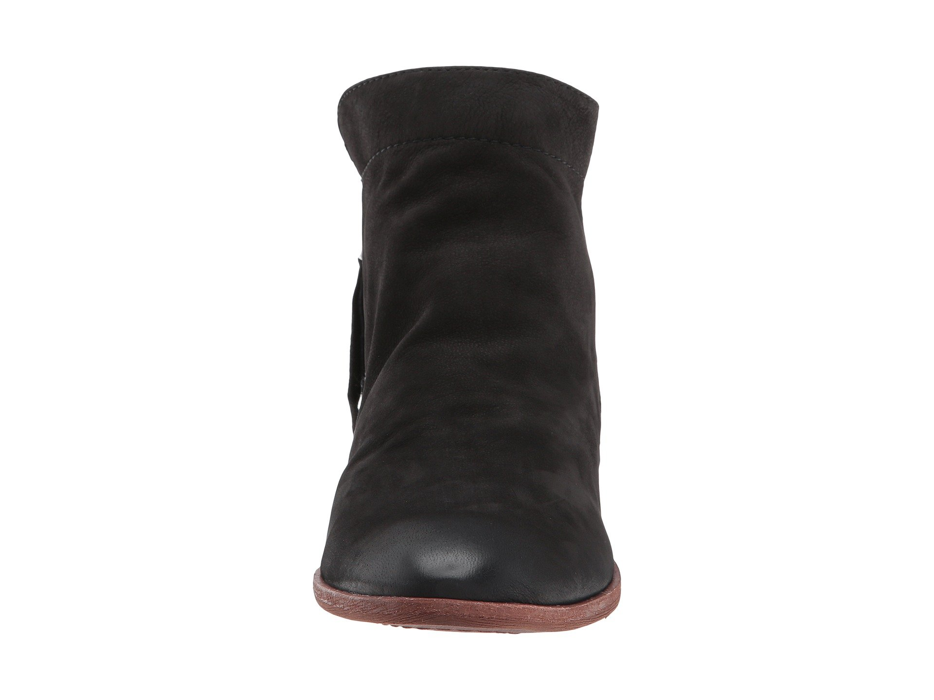 Packer Sam Black Edelman Waxy Leather Nubuck 5zzZqrU