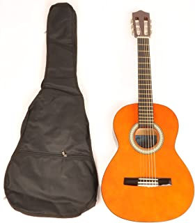 Classical Acoustic Guitar 1/2 Size (34 inch) left handed w/carry bag Omega Class Kit 1/2 NA LH