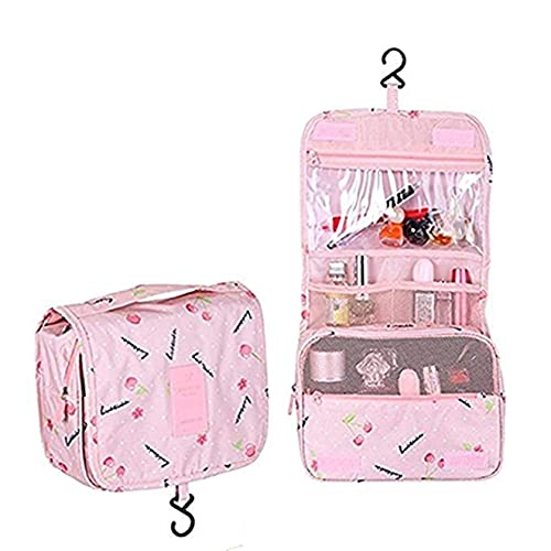 69c548ca8ee7 Multifunction Toiletry Cosmetic Bag Make up Kit Case Pouch Hanging Shaving  Hook Travel Vacation Bathroom Organizer