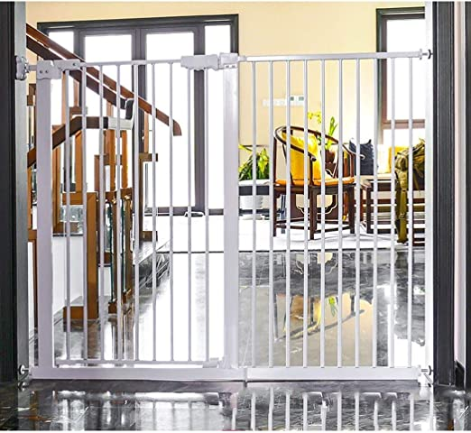 Amazon Co Jp Fence Pet Fence Fireplace Guard Rail Stair Child Safety Door Baby Fence Free Punching Barrier Door Fence Pet Dog Fence Pole As 701 Color Height 78cm Width Size 50 53 Home